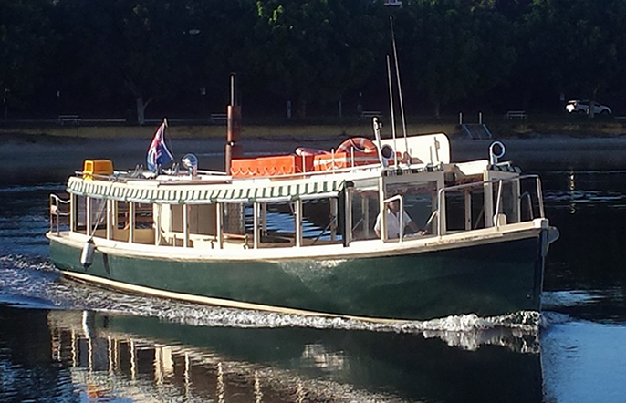 Tea Gardens Ferry Service